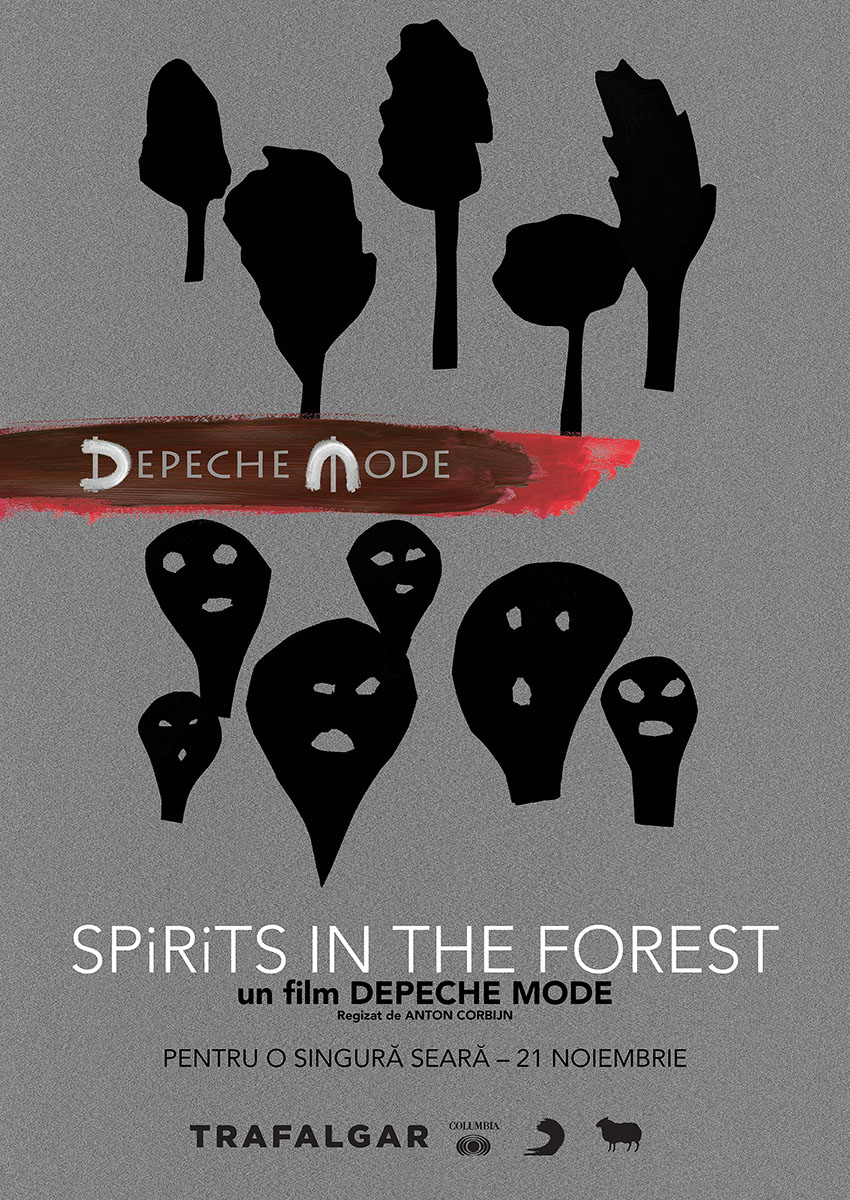 Afis film: 2D Depeche Mode: Spirits in the Forest