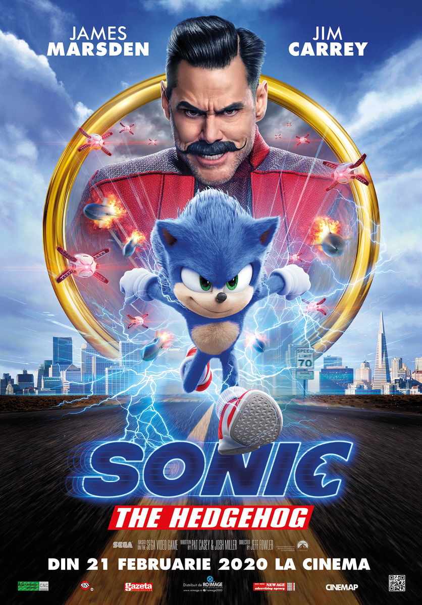 Afis film: 2D Sonic the Hedgehog - dublat